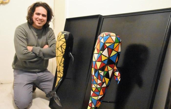 Michaël Peetermans exposeert voor internationaal publiek