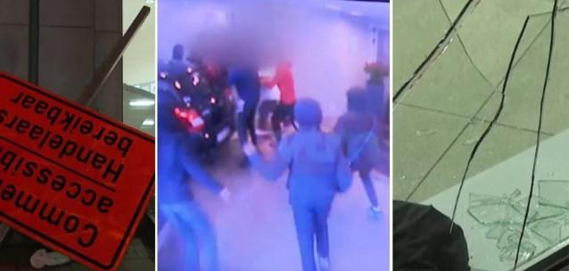 Relschoppers vielen ook voorbijgangers aan: koppel moet hotel invluchten