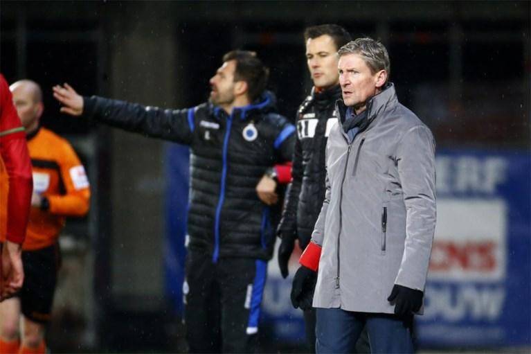 Club Brugge knikkert bekerhouder Zulte Waregem pas na verlengingen uit Croky Cup