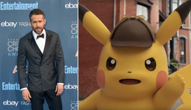 Pokémon strikt Ryan Reynolds voor hoofdrol in nieuwste film