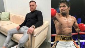Bokst Conor McGregor binnenkort in nieuw supergevecht… tegen Manny Pacquaio?