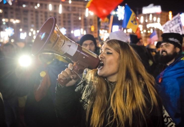 Meer dan 10.000 mensen op straat tegen justitiehervorming in Roemenië
