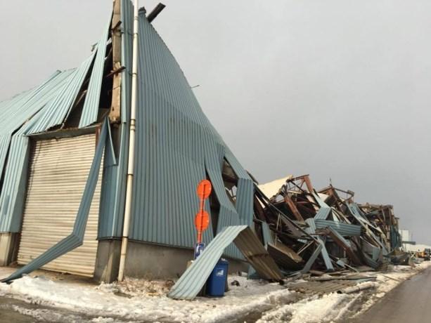 Loods van 'oudste bedrijf in Gentse haven' ingestort door sneeuw en regen