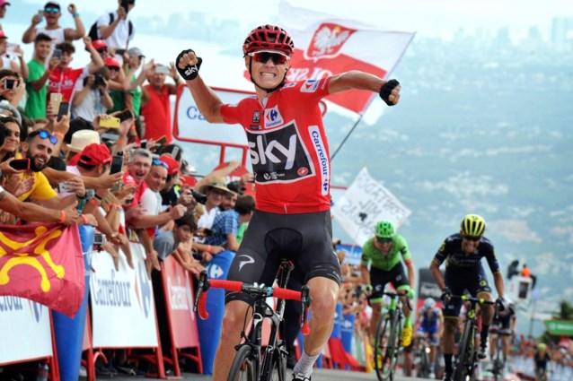 Chris Froome speelt mogelijk Vuelta-zege kwijt na positieve dopingtest, schorsing dreigt