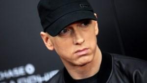 Rapper Eminem serveert 'Mom's spaghetti' in pop-up