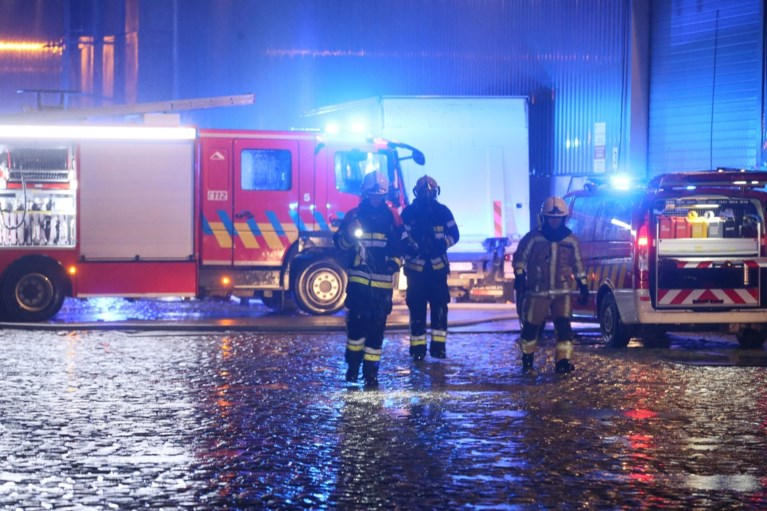 Brand op bekend schip aan Antwerpse Kattendijkdok