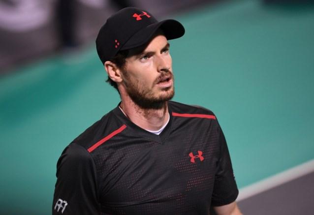 Andy Murray voor het eerst sinds Wimbledon opnieuw op een court maar zonder groot succes