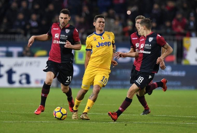 Juventus moet sterspeler Paulo Dybala mogelijk lang missen met dijblessure