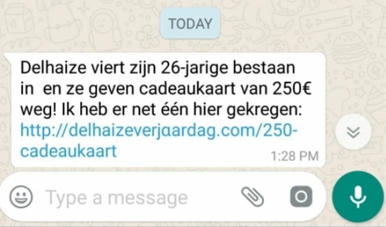"""Opgelet voor valse WhatsApp-berichten van vrienden: """"Oplichters maken gebruik van slimme truc"""""""