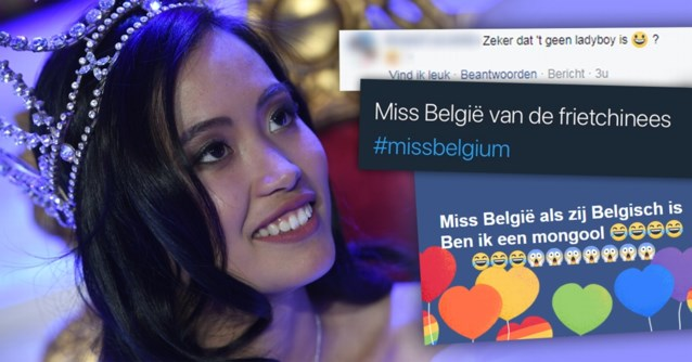 """Miss België krijgt hele lading racistische commentaren over zich heen: """"Nieuw dieptepunt"""""""