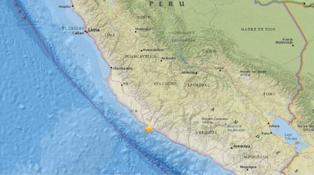 Peru opgeschrikt door aardbeving: zeker 2 doden en 65 gewonden