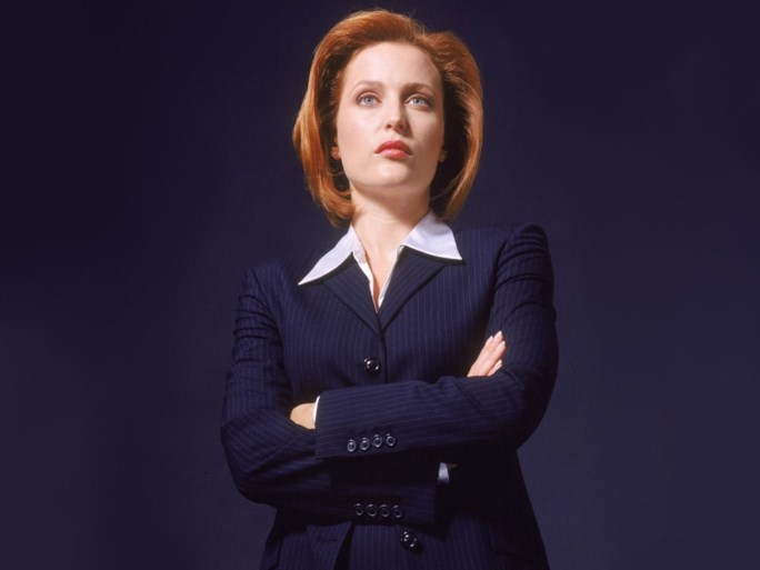 'The X-Files'-actrice Gillian Anderson ziet er onherkenbaar mager uit