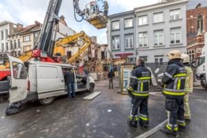 """Antwerpse brandweer over lof na explosie Paardenmarkt: """"Dat deed deugd"""""""