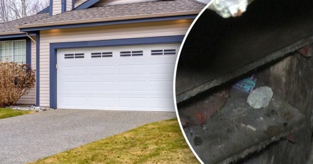 Vrouw ontdekt geheime kamer onder haar garage, en die is niet leeg