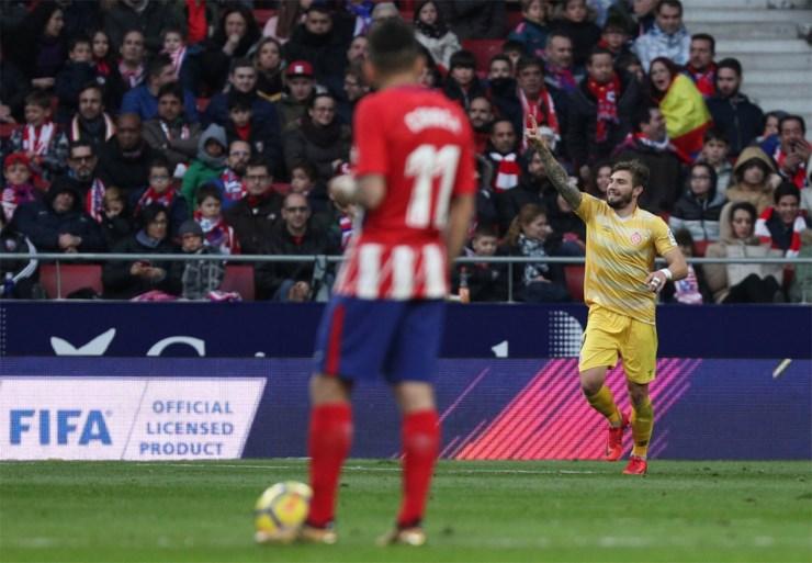 Atlético morst in eigen huis met de punten tegen promovendus Girona