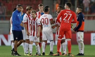 Olympiakos-Belgen houden punten thuis tegen 10 Xanthi-spelers