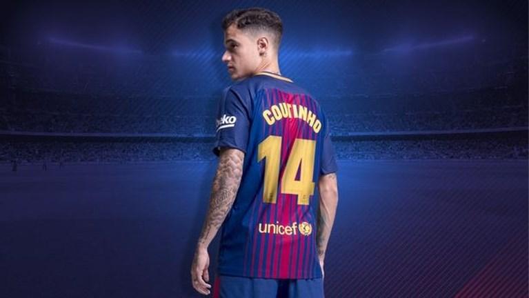 Coutinho krijgt legendarisch rugnummer bij Barcelona