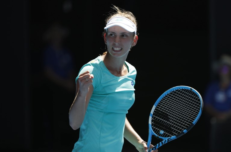 Droom van Elise spat uit elkaar: Mertens vecht tot laatste snik maar verliest halve finale Australian Open tegen Wozniacki