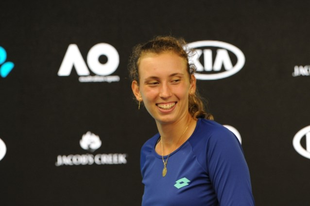 """Elise Mertens blikt met """"gemengde gevoelens"""" terug op twee fantastische weken op Australian Open"""