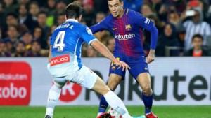 Coutinho toont meteen dat hij past in het systeem van Barcelona (en verwent het publiek met zijn dribbels)