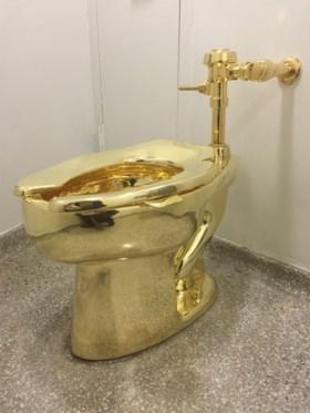 Trump vroeg een zeldzame Van Gogh, maar krijgt… een gouden wc-pot
