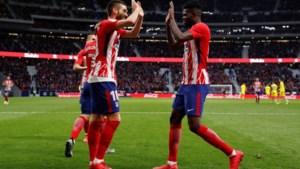 Carrasco valt in bij Atlético Madrid en geeft assist tegen staartploeg