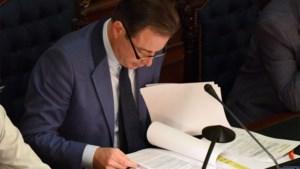"""Burgemeester De Wever na explosie op Paardenmarkt:""""Stadsdiensten hebben geen fouten gemaakt"""""""