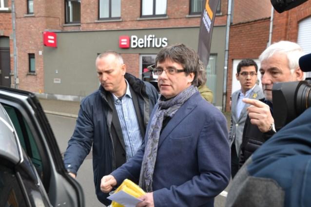 Geen Puigdemont op N-VA-receptie vanavond in Leuven