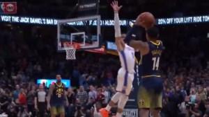 NBA. Knotsgekke wedstrijd tussen Thunder en Nuggets beslist op de buzzer, Toronto verliest topper