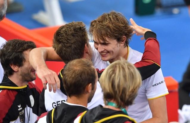 Australië en Duitsland staan gelijk na eerste enkelspelen in Davis Cup
