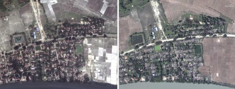 Vijf massagraven met door zuur en messen verminkte lichamen ontdekt, maar volgens het leger 'is er niks gebeurd'