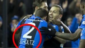 Club Brugge blundert met shirt van nieuwkomer Scholz