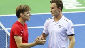 Hij ging onderuit tegen Goffin in de Davis Cup maar Hongaar en ballenmeisje zorgen voor 'foute foto'