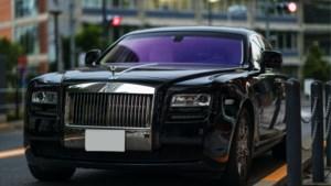 Politie neemt peperdure Rolls Royce in beslag