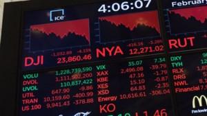 Alweer forse verliezen op de beurs: Bel-20 -2%, Dow Jones zelfs -4,2%
