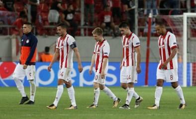 Olympiakos-Belgen na uitschuiver op achtervolgen aangewezen in Griekse Super League