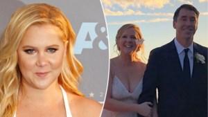 Amerikaanse comédienne Amy Schumer stiekem getrouwd