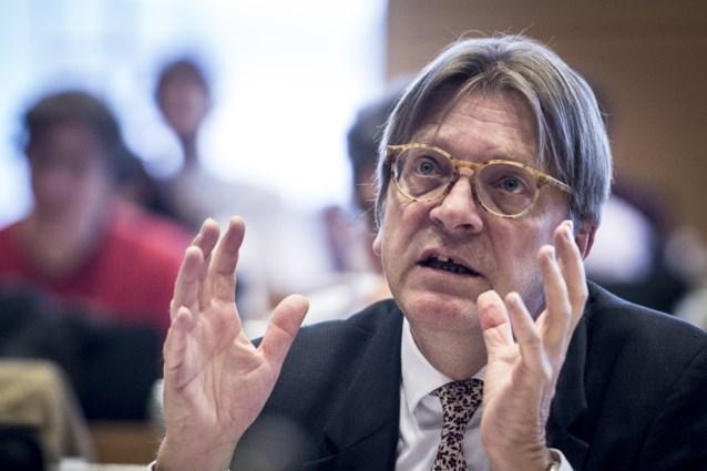 """Verhofstadt heeft """"zin in Gentse gemeenteraad"""" en zal zijn zetel opnemen bij goed resultaat"""