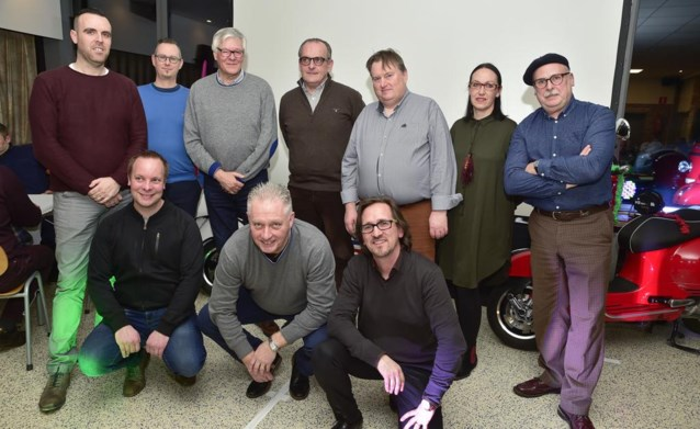 Nieuw bestuur voor Vespa Club Roeselare