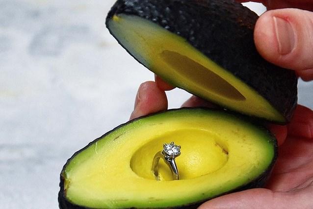 Is dit het ultieme huwelijksaanzoek voor avocadofans?
