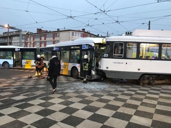 Twee zware ongevallen met trams op amper één kilometer van elkaar