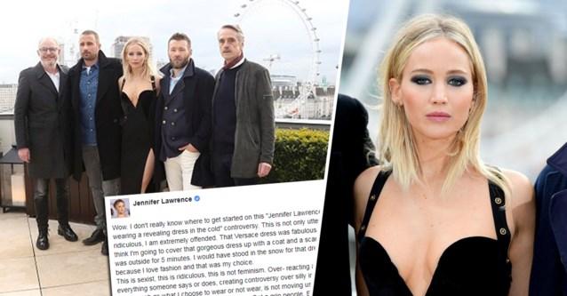 """Jennifer Lawrence reageert verontwaardigd na ophef over foto met Matthias Schoenaerts: """"Ik ben echt beledigd"""""""