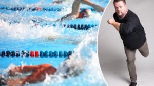 """COLUMN. """"Ik heb nooit echt leren zwemmen, nu ploeter ik tussen de gestroomlijnde zwemmers. Excuses"""""""