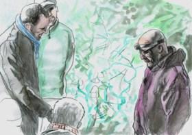 Afspelen van gruwelfilm met verkrachting en moord op proces-Hardy stilgezet na twee fragmenten