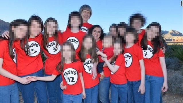 """Details bekend over toestand van 13 mishandelde Turpin-kinderen: """"Maken nu kennis met iPads, Harry Potter en tandenborstels"""""""