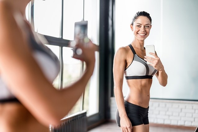 Dit doen fitnessfoto's op Instagram met je zelfbeeld