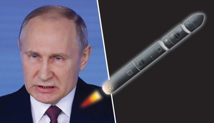 """Dit is de superraket waarmee Vladimir Poetin zijn wereldmacht weer wil vestigen: """"Nu zullen jullie luisteren"""""""