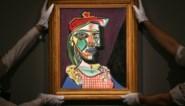 Schilderij van Picasso, waarin maîtresse verborgen zit, geveild voor 50 miljoen pond