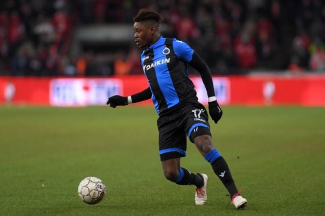 Anthony Limbombe verlengt contract bij Club Brugge