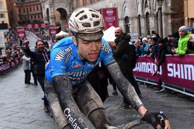 Dit zegt Wout van Aert zelf over zijn toekomst op de weg na podiumplaats in heroïsche Strade Bianche